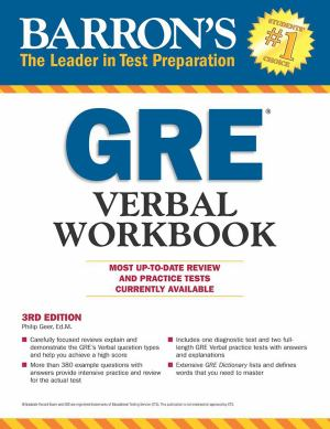 Gre Verbal Workbook (SKU 1049488296)