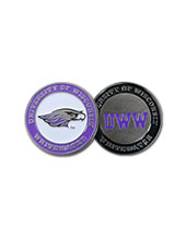 Ball Marker Double-Sided With Mascot & Uww