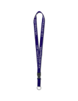 MCM Purple Lanyard UW-Whitewater