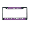 MCM License Plate Frame with Warhawks and UW-W
