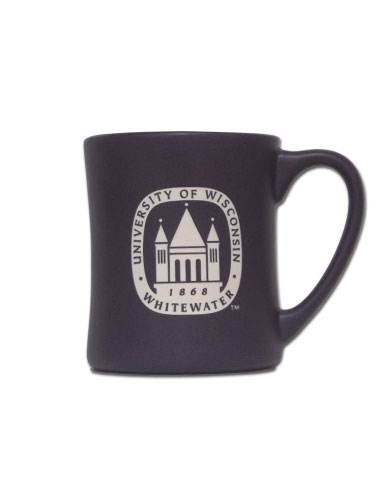 Mug With Etched Uw-W Seal