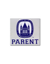 Decal With Univ. Of Wisconsin-Whitewater Parent & Old Main Seal