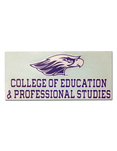 Decal With College Of Education & Professional Studies (SKU 1040652610)
