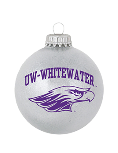 R.F.S.J Grey Ornament with UW-W over Mascot (SKU 1043513774)