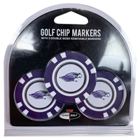 Golf Chip Markers 3 Pack with Mascot