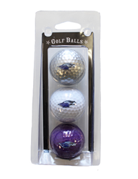 Golf Balls Assorted Colors with Mascot