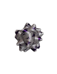Neil Silver Gift Bow Mascot Pattern