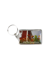 Keychain Little Red Schoolhouse