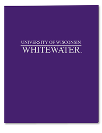 Roaring Spring Purple Folder University Of Wisconsin Whitewater