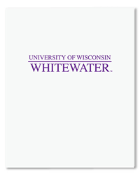 Roaring Spring White Folder University Of Wisconsin Whitewater