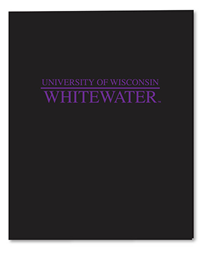 Roaring Spring Black Folder University Of Wisconsin Whitewater