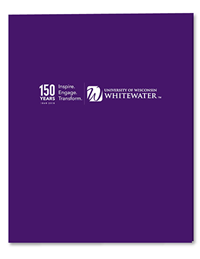 Roaring Spring Purple Folder 150Th Logo