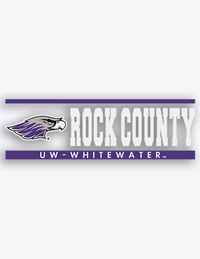 CDI Corp Decal Mascot Rock County UW-Whitewater