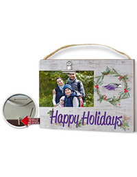 Picture Frame - 4x6 Happy Holidays with Mascot