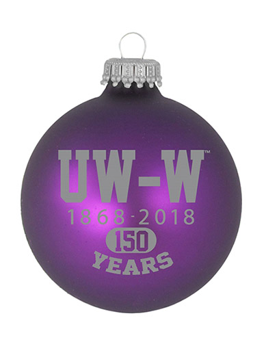 R.F.S.J Purple Ornament UW-W 1868-2018 150 Years (SKU 1053455774)