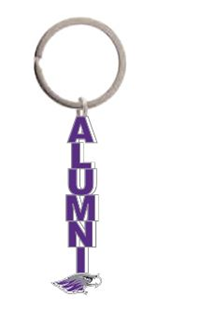 Key Chain - Purple  Alumni & Mascot