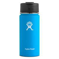 Hydro Flask 16 oz. Wide Mouth with Hydro Flip Pacific