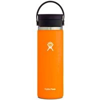 Hydro Flask 20 oz. Wide Mouth with Flex Sip Lid Orange Zest