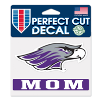 "Decal - 4""x5"" Mascot over Mom"