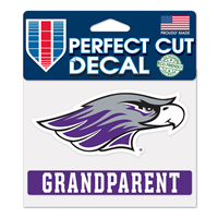 "Decal - 4""x5"" Mascot over Grandparent"