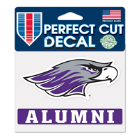 "Decal - 4""x5"" Mascot over Alumni"