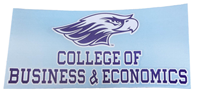 Angelus Pacific Decal with College of Business & Economics