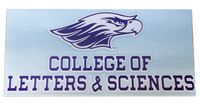 Angelus Pacific Decal with College of Letters & Sciences