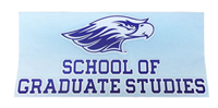 Angelus Pacific Decal with School of Graduate Studies