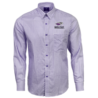 Antigua Purple Button Up Dress Shirt