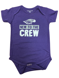 College Kids New To The Crew Infant Bodysuit