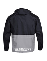 Champion Packable Jacket Warhawks on Back