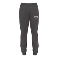 Badger Grey Joggers Warhawks Over Mascot