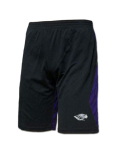 Under Armour Black & Purple Shorts With Mascot