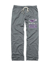 N.A. Sweatpants Grey Mascot Over Uw-W Warhawks