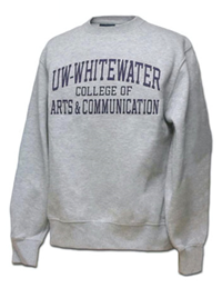 Blue 84 Sweatshirt Uw-W College Of Arts & Communication