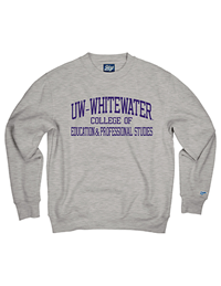Blue 84 Sweatshirt Uw-W College Of Education & Professional Studies