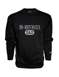 Blue 84 UW-Whitewater Dad Crew Sweatshirt