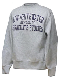 Blue 84 Sweatshirt Uw-W School Of Graduate Studies