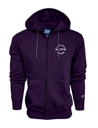 Blue 84 Purple Full Zip Sweatshirt Grandma