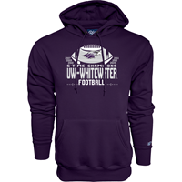 Blue 84 Football Hooded Sweatshirt
