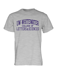 Blue 84 T-Shirt Uw-W College Of Letters & Sciences