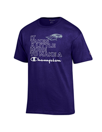 Champion T-Shirt C100 Logo