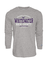 Blue 84 Long Sleeve Shirt University of Wisconsin Whitewater Rock County