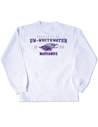 College Kids White Long Sleeve Shirt Property Of Uw-Whitewater